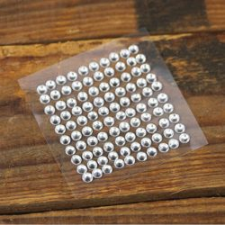 3mm Self Adhesive Clear Rhinestones