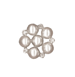 Ipaper 6 Pearl Cluster Silver