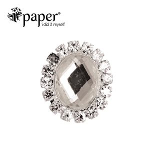 Ipaper Crystal Oval Bling