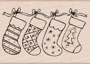 Christmas Stockings K5254