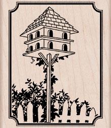 Tall Birdhouse K5366
