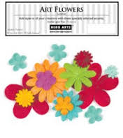 Summer Art Flowers CH150