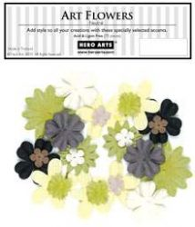 Neutral Art Flowers CH152