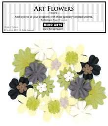 Neutral Art Flowers CH152