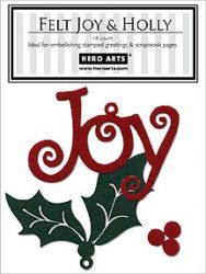 Felt Joy & Holly CH184