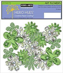 Foliage Print Art Flowers CH207