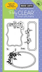 Three Floral Frames CL384