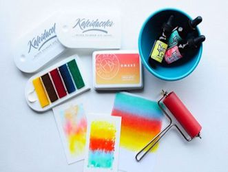 Rainbow Dye Ink Pads
