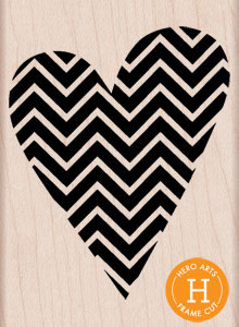Patterned Heart H5554
