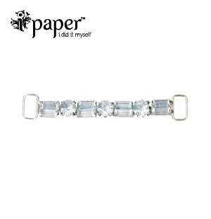 Crystal Baguette Buckle