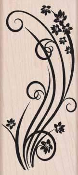 Swirl with Flowers K5133