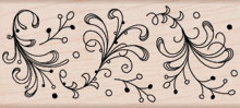 Dot Flourish Border K2532