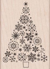 Snowflake Tree K5251