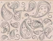 Paisley Swirl S5127