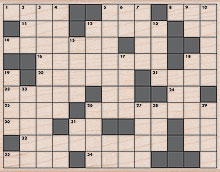 Crossword Background S5290