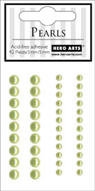 Light Green Accent Pearls CH174