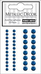 Blue Metallic Décor CH190
