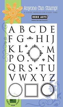 Monogram Alphabet CL136