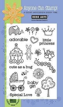 Adorable Baby Girl CL265