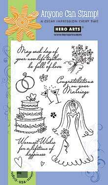 Warmest Wedding Wishes CL268