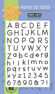 Simple and Basic Alphabet CL312