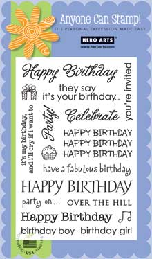 Birthday Sayings CL340