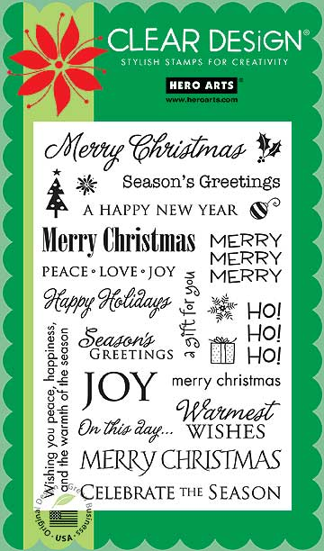 Holiday Sayings CL343