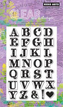 Fancy Letters CL581