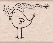 Bird with Holly F5253