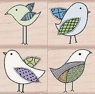 Decorative Birds LP032