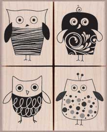 Four Stylish Owls LP131