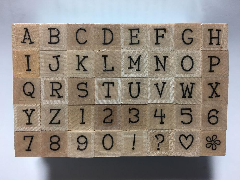 Delightful Uppercase Letters LL116